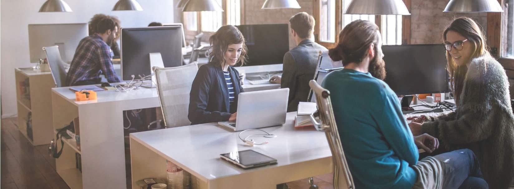 Flexbile Workspaces als Buerosonderform